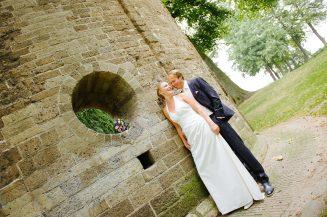 Bruidspaar samen