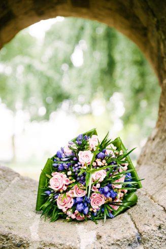 Bloemstuk voor de bruid