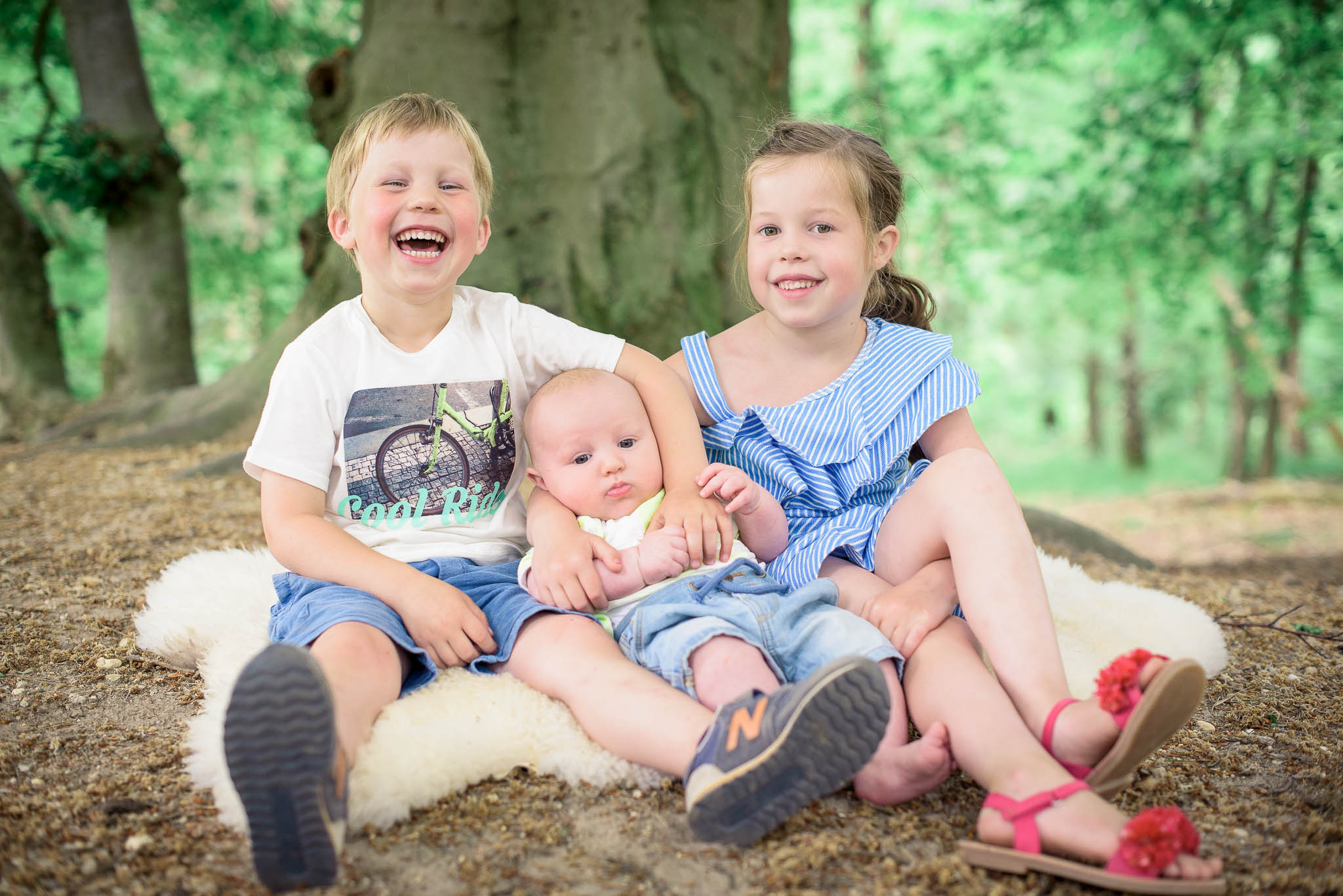 Fotoshoot met kinderen in Nijmegen