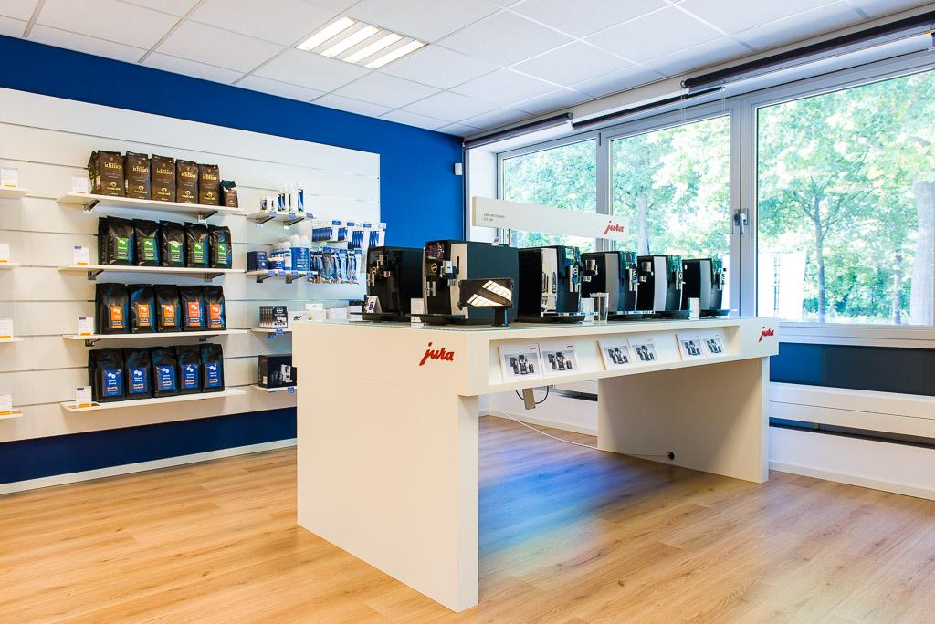 Showroom Hendriks Koffie Zevenaar