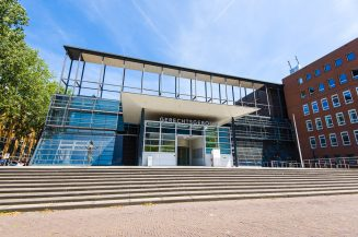 Foto van het gerechtsgebouw in Utrecht